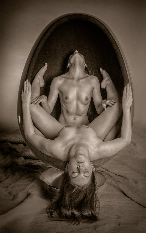 All the girls love the Egg chair Artistic Nude Photo by Photographer rick jolson