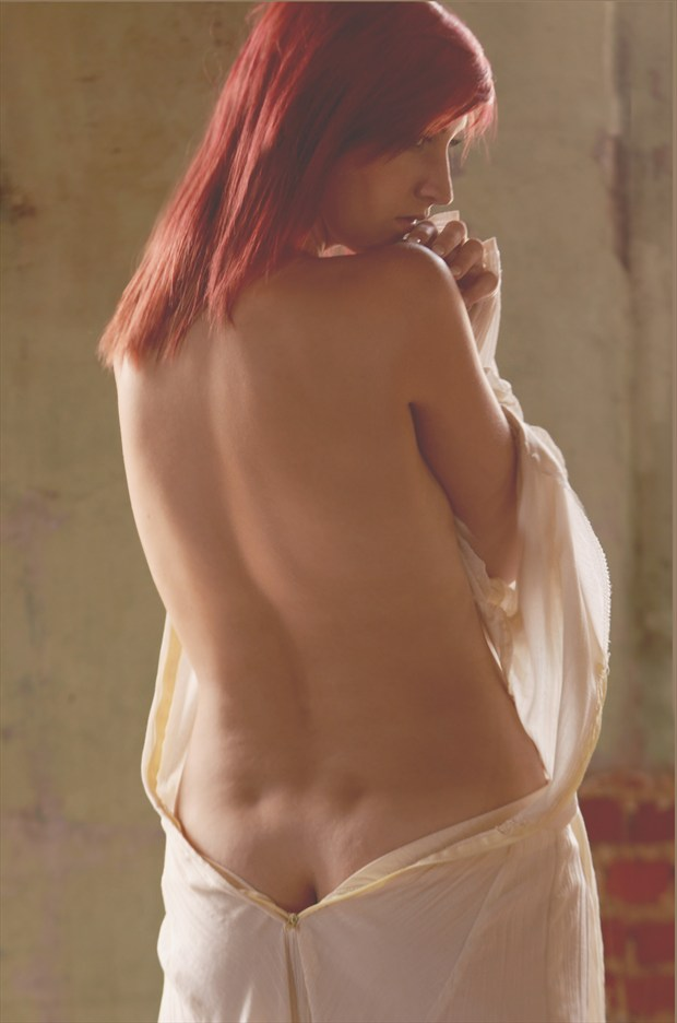 Allena Sage Implied Nude Photo by Photographer Kor