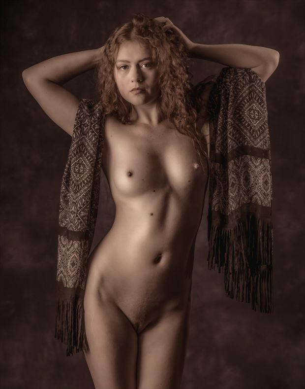 Allie Artistic Nude Photo by Photographer Paul Anders