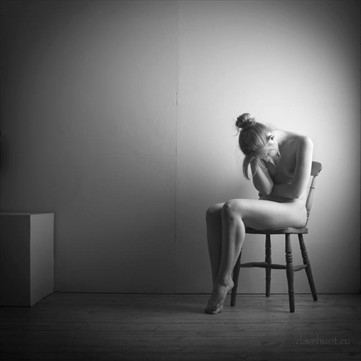 Alone 1 Artistic Nude Photo by Photographer Dave Hunt