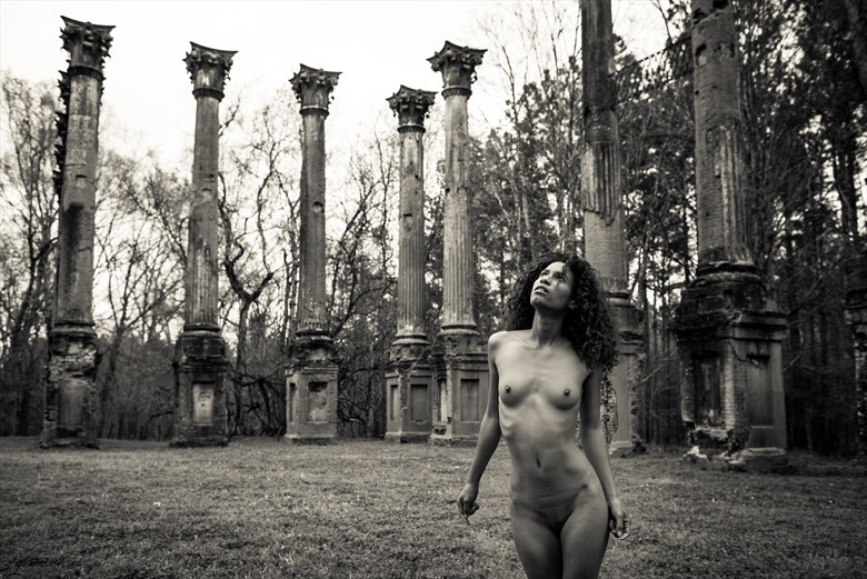 Alone With the Past Artistic Nude Photo by Photographer The Artist