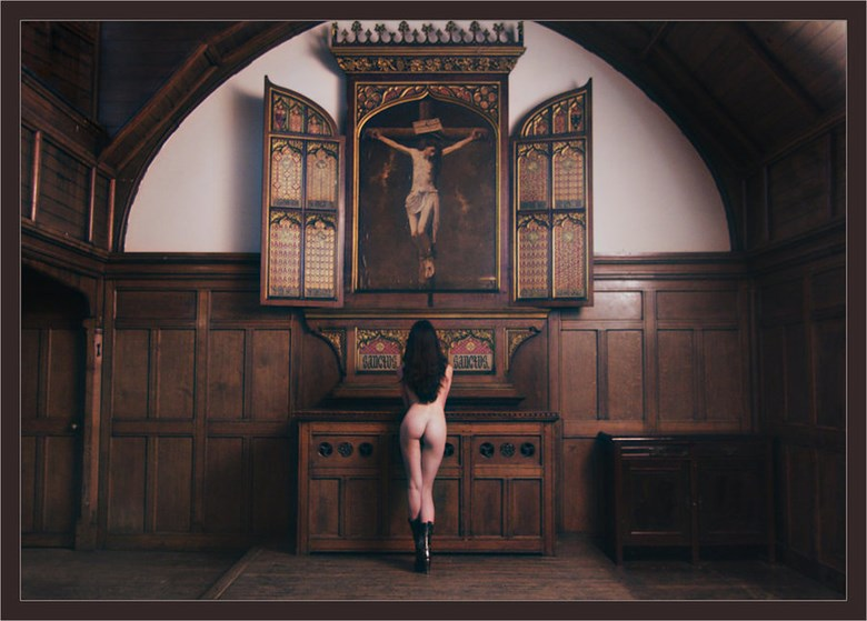 Altar Artistic Nude Photo by Photographer Malcolm  Mellon