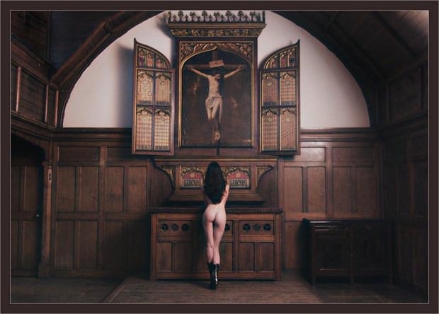 Altar Artistic Nude Photo by Photographer Malcolm  Mellon