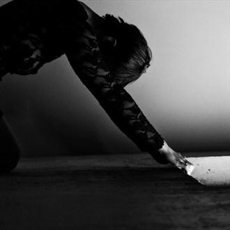 Alternative Model Candid Photo by Photographer Shabaka