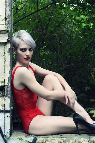 Alternative Model Fashion Photo by Model Adrien Michaels