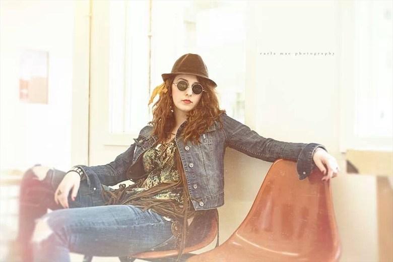 Alternative Model Fashion Photo by Model Madison Doty