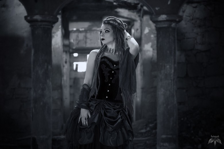 Alternative Model Fashion Photo by Model Savra