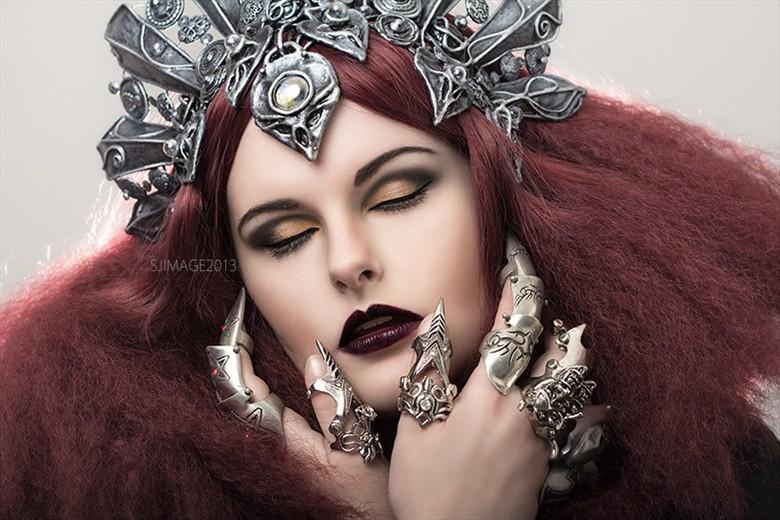 Alternative Model Gothic Photo by Model Evie Wolfe