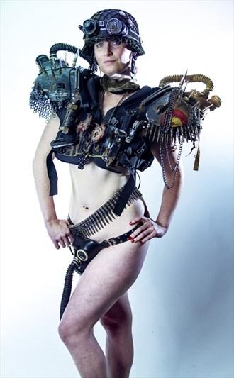 Alternative Model Implied Nude Photo by Model Catherine Monk