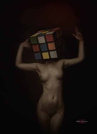Alternative Model Implied Nude Photo by Photographer Christian Melfa