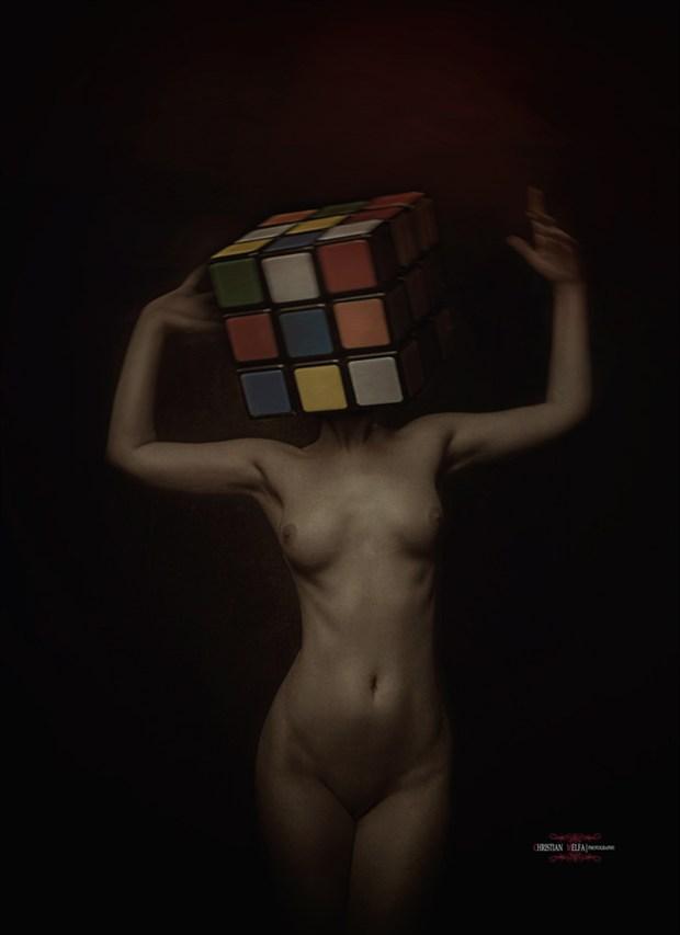 Alternative Model Implied Nude Photo by Photographer Christian Melfa