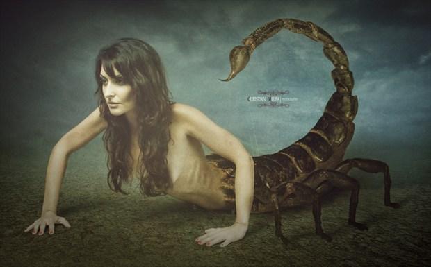 Alternative Model Photo Manipulation Artwork by Photographer Christian Melfa