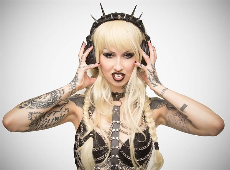 Alternative Model Photo by Photographer Barbarian Media
