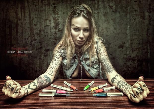 Alternative Model Photo by Photographer Christian Melfa