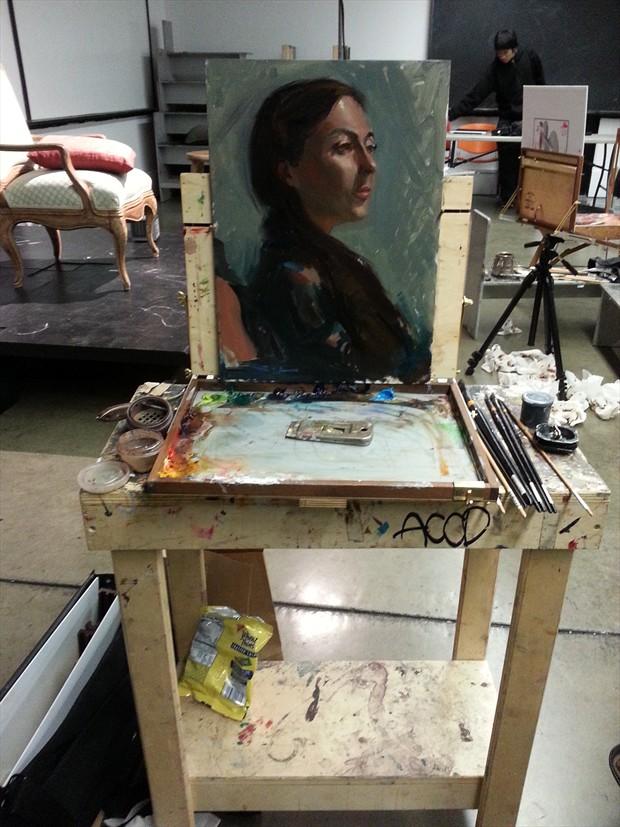 Alternative Model Portrait Artwork by Artist ShunXie