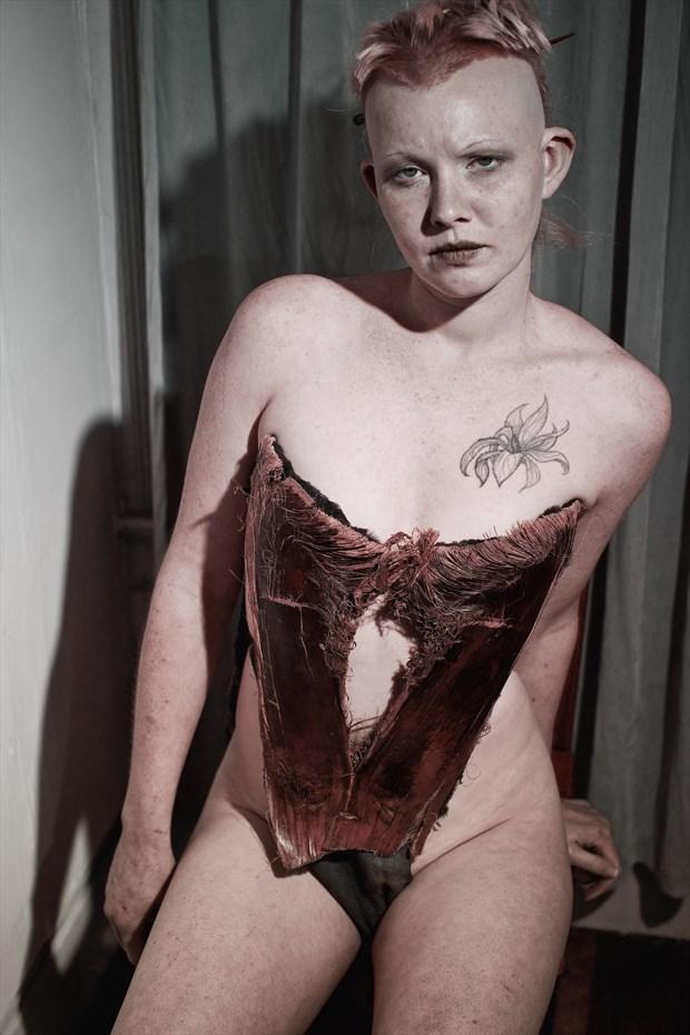 Alternative Model Retro Photo by Photographer Kelly Rae Daugherty