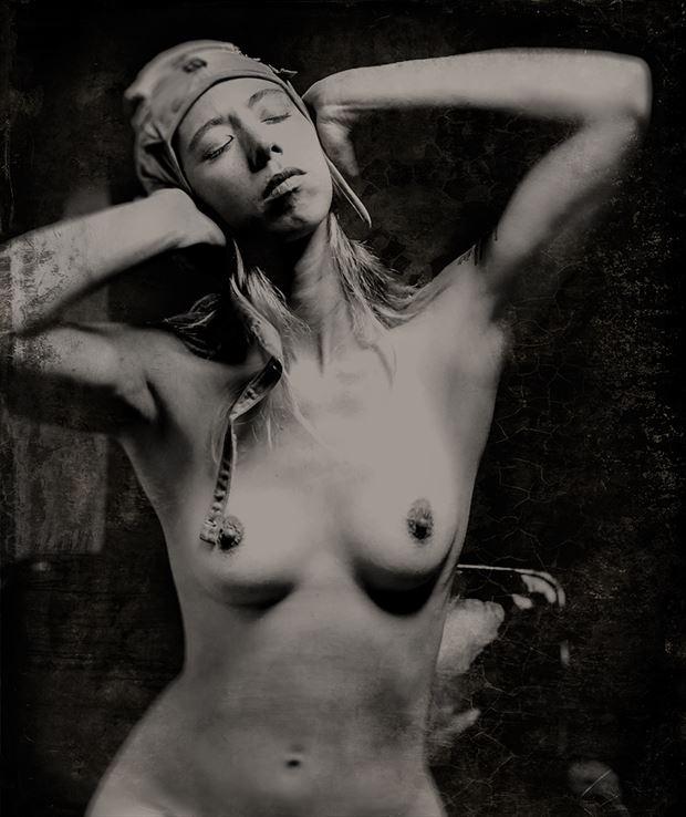 Alyssandra Artistic Nude Photo by Photographer George Ekers