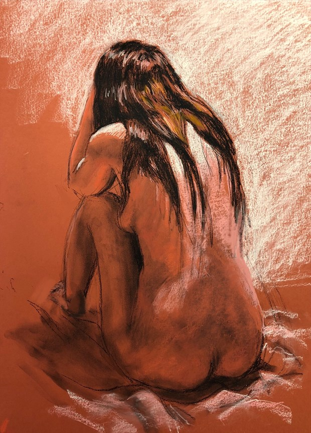 Amanda 1 Artistic Nude Artwork by Artist Rod