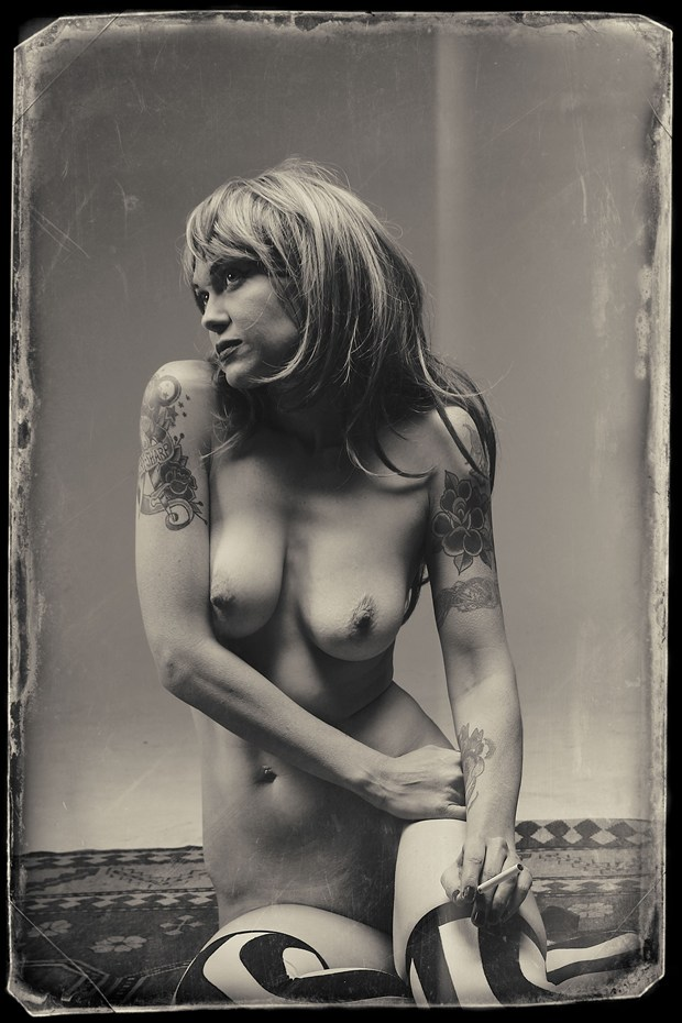 Amanda Artistic Nude Photo by Photographer SteveLease