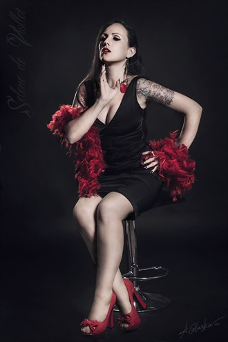 Amaranthine Sensual Photo by Model Selene de Viollet