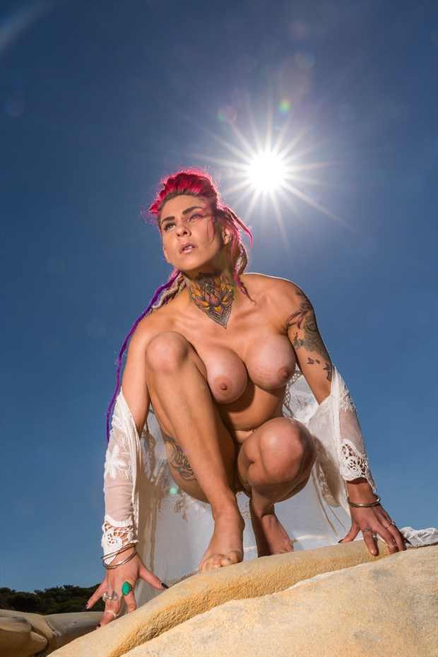 Amazon Artistic Nude Photo by Photographer Stephen Wong