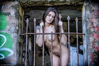 Amber Flowers Artistic Nude Photo by Photographer J Photoart