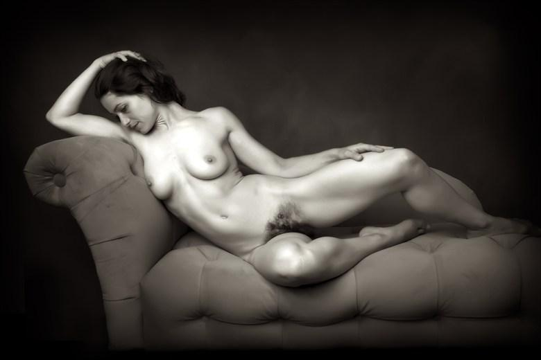 Ana Reclining Artistic Nude Photo by Photographer Bill Hughes