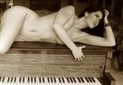 Anais Zanotti Vintage Style Artwork by Photographer Rick Gordon