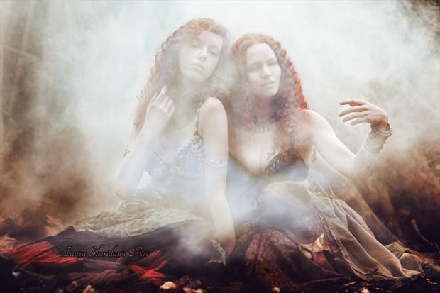 Ancient Rituals Fantasy Artwork by Photographer Laura Sheridan's Art