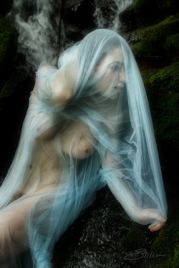 And She Becomes Artistic Nude Photo by Artist Kevin Stiles