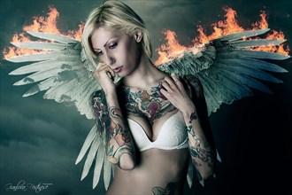 Angel's Whiper Artistic Nude Artwork by Artist Gianluca Festinese