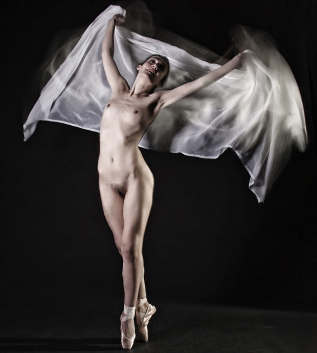Angel Artistic Nude Photo by Model Rose Valentina