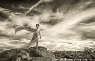 Angel Artistic Nude Photo by Photographer Frank Leonard