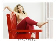 Angelina at Red Bench Studio Artistic Nude Photo by Photographer Studio A Bit Blue