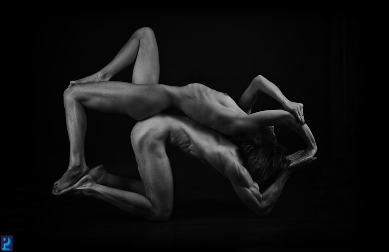 Angles, and Triangles Artistic Nude Artwork by Photographer Thom Peters Photog