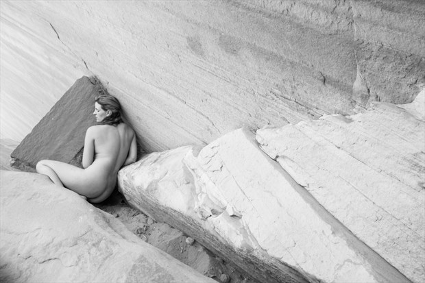 Angles Artistic Nude Photo by Model Mila