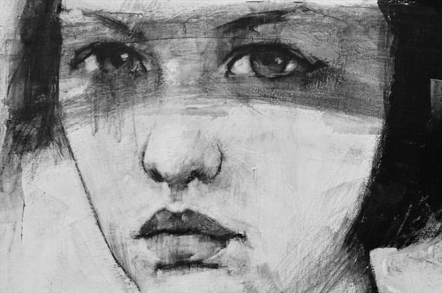 Anna Chiaroscuro Artwork by Artist JonD