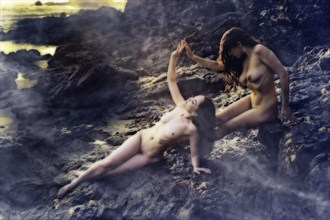 Anne & Anoush Artistic Nude Photo by Photographer Jon Miller