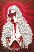 Anointed Artistic Nude Artwork by Artist Shayne of the Dead
