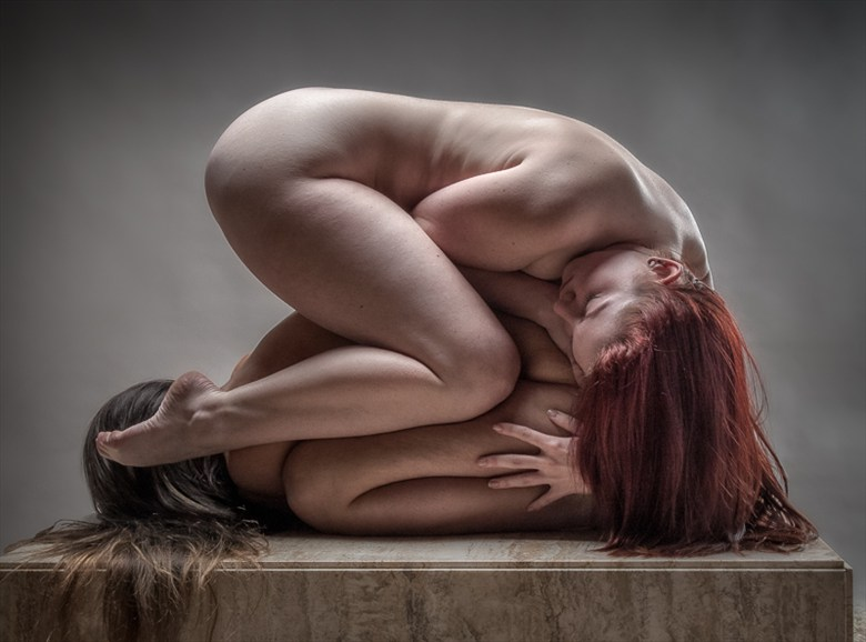 Another Coffee Table Pile Up 2   Color Artistic Nude Photo by Photographer rick jolson