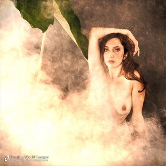 Anoush in Fog Artistic Nude Photo by Photographer Floating World Images