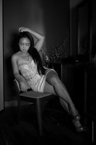 April at the dressing table Sensual Photo by Photographer dpdodson
