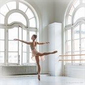 Arabesque Figure Study Photo by Photographer Randall Hobbet