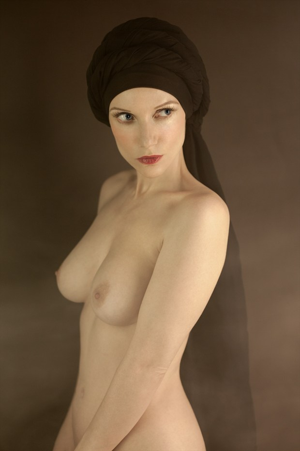 Arabian Nights Artistic Nude Photo by Model Muse