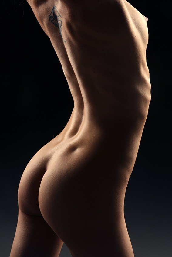 Arch Artistic Nude Photo by Model Mauvais