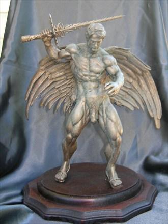 Archangel Artistic Nude Artwork by Artist Robert Cottrell