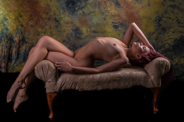 Arches Artistic Nude Photo by Model Aurora Red