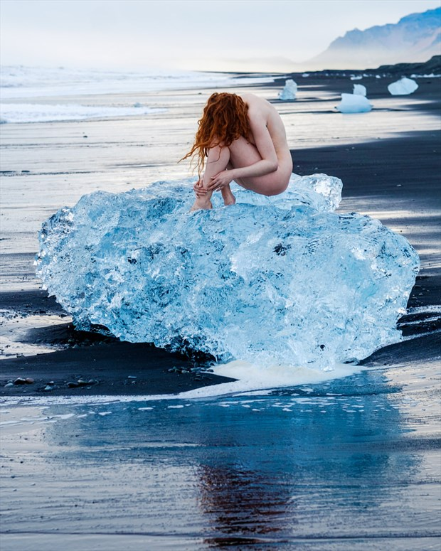Arctic Nude  Artistic Nude Photo by Model Johannsdottir