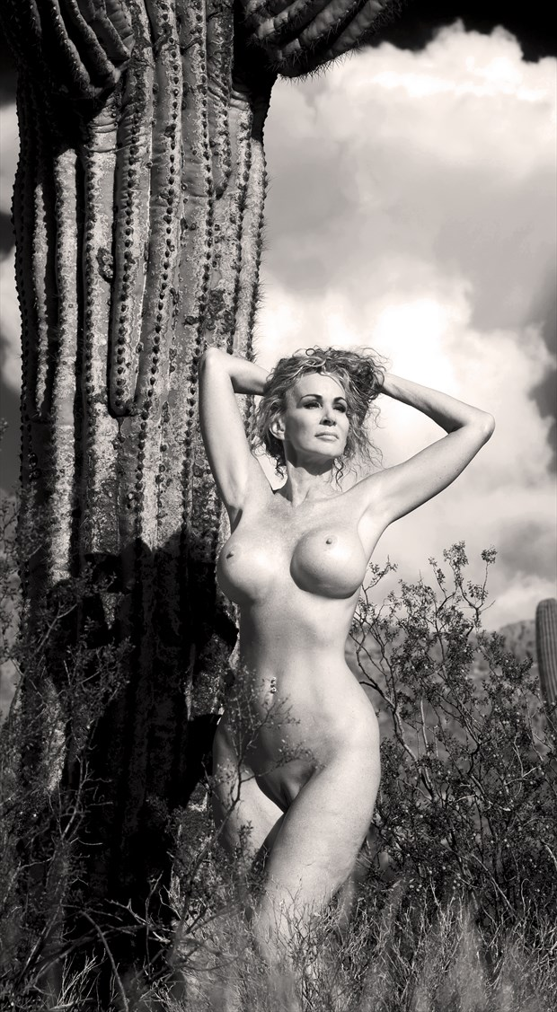Arizona Desert Figure Study Photo by Photographer Eric Lowenberg