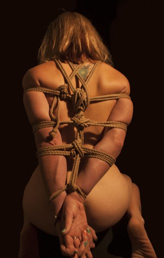 Arms tied back Artistic Nude Photo by Artist LovelyDay